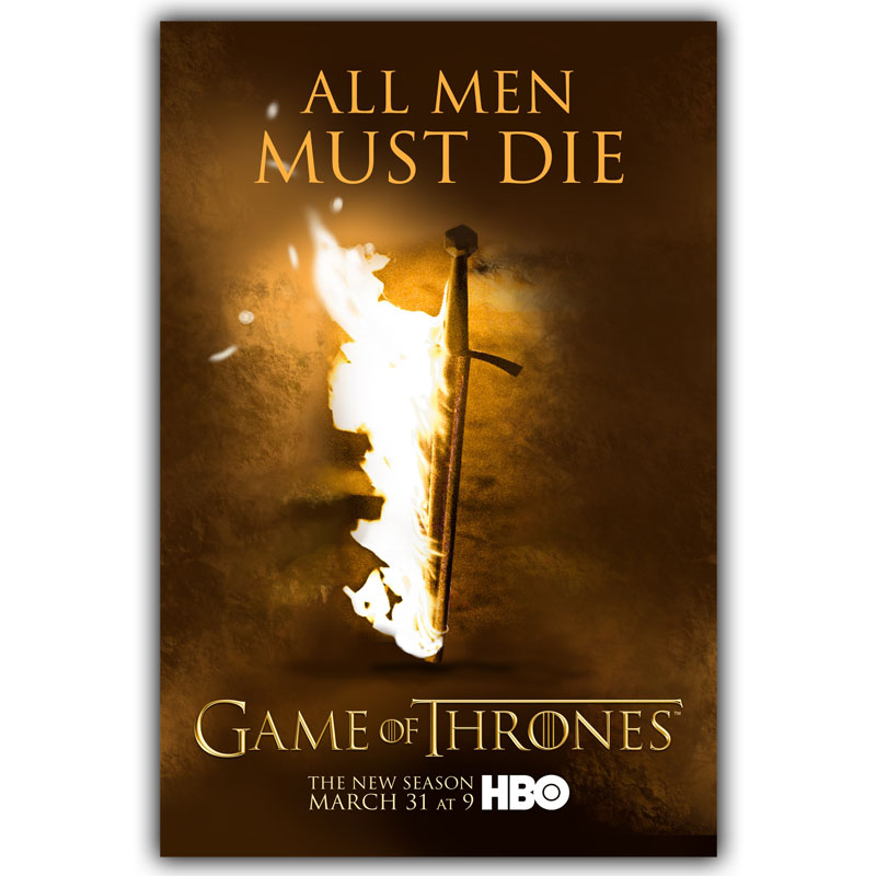 Игра престолов плакат Старк Шелковый Холст Ткань украшения дома плакат dy614