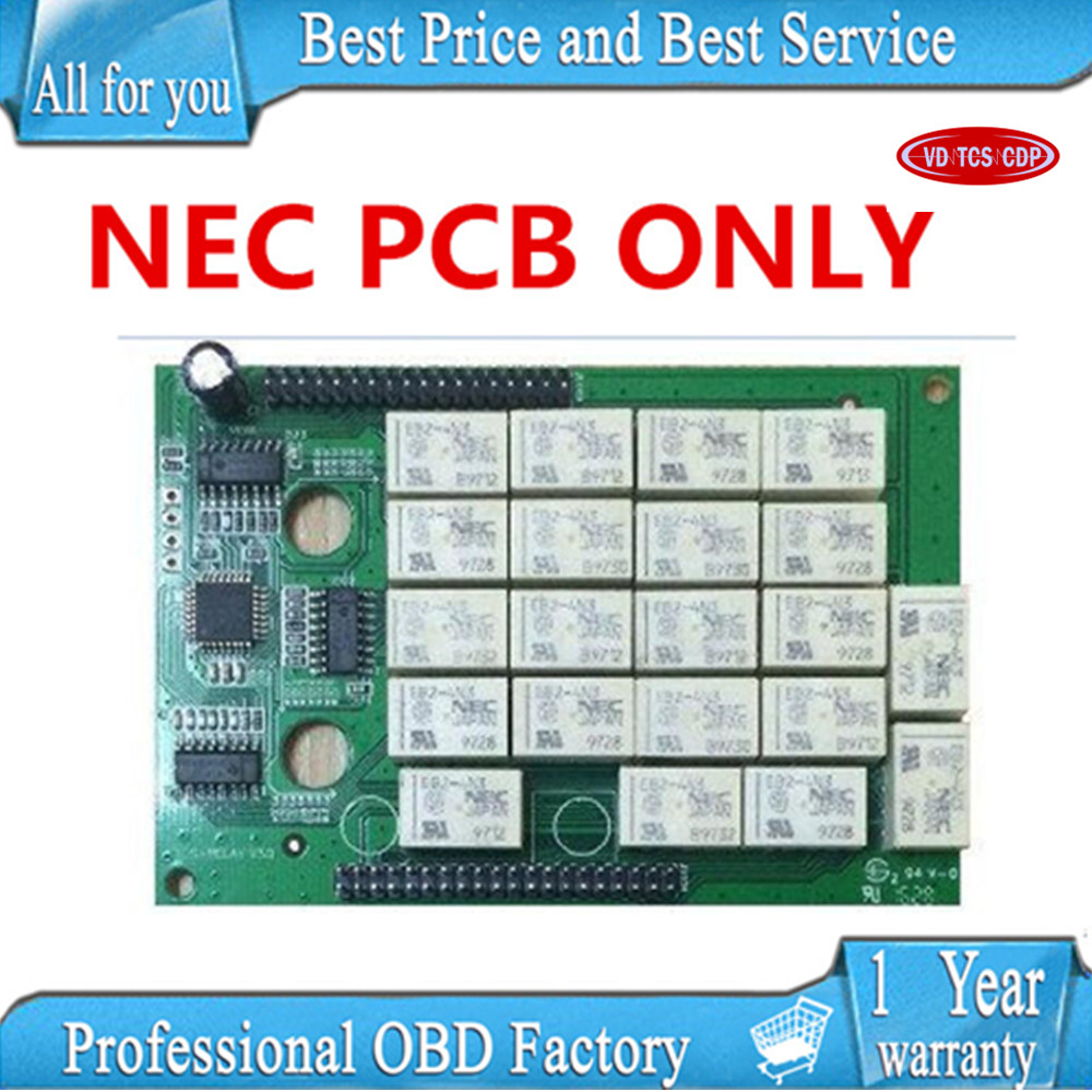 N-EC relay PCB only for VD TCS CDP PRO PLUS