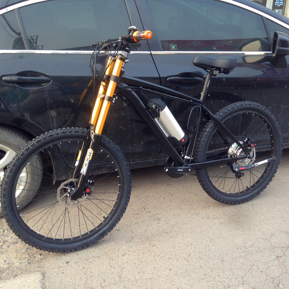 Electric power unterstützt fahrrad aluminium rahmen Der downhill ...