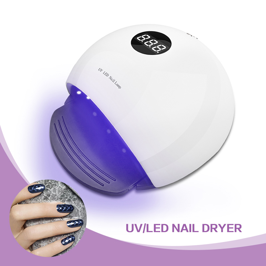 36w LED UV Nail Lamp Sensor Professional Pedicure Lampara Led Tool Manicure Dryer Light Machine LCD Display Screen Free Shipping nail clipper cuticle nipper cutter stainless steel pedicure manicure scissor nail tool for trim dead skin cuticle