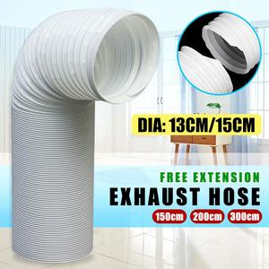 Image 3 - Portable Air Conditioner Parts Diameter 13cm/15cm Exhaust Hose Tube Free extension Flexible DIY Home For Air Conditioner Tools
