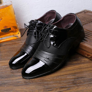 Delocrd Classic Dress Shoes Mens Patent Leather Oxford