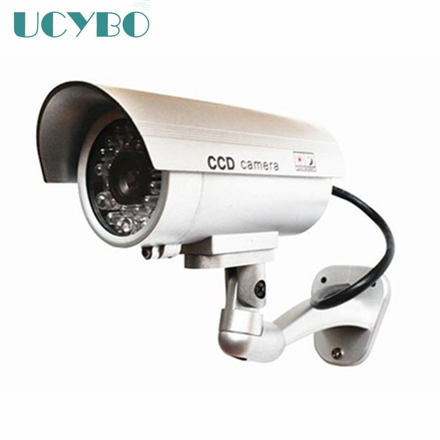 dummy fake camera wifi home surveillance security outdoor waterproof IR Red led Emulational cctv dummy camera