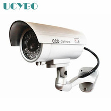 dummy fake camera wifi home surveillance security outdoor waterproof IR Red led Emulational cctv dummy camera