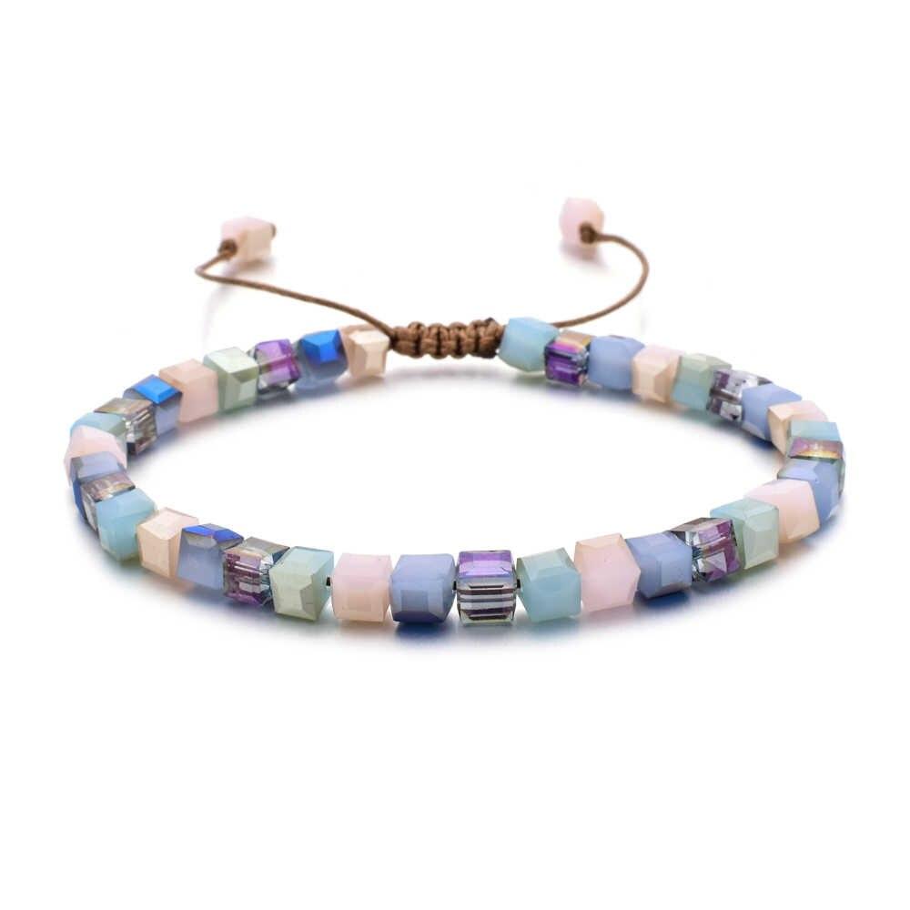 ZMZY ใหม่แฟชั่นสไตล์ผู้หญิงสร้อยข้อมือคริสตัลสร้อยข้อมือของขวัญเครื่องประดับ Handmade Wristlet Trinket
