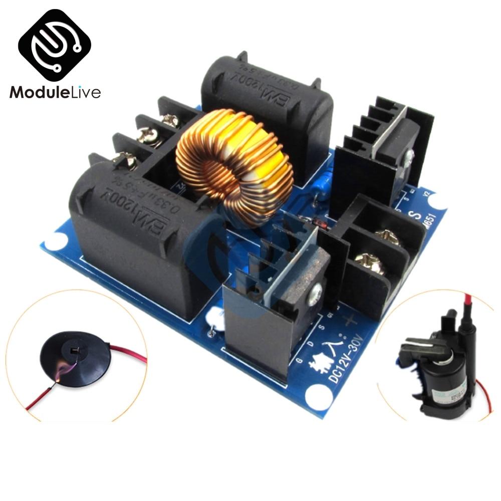 ZVS Tesla Coil Marx Generator DC 12V 30V 20A 1000W High Voltage Power Supply Assembled Diy Electronic PCB Driver Board