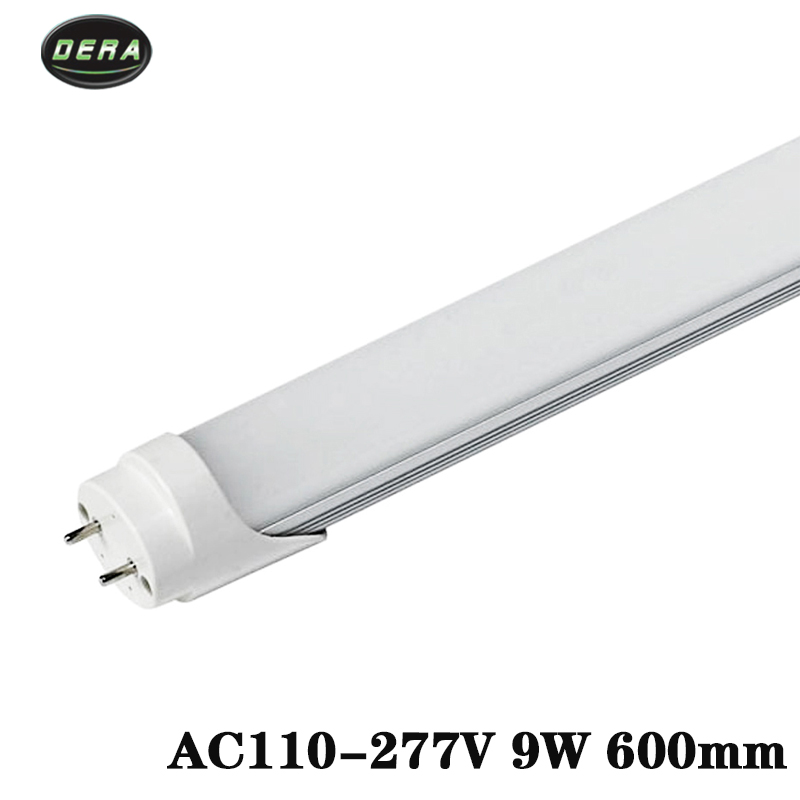 25/50 pcs T8 2FT 600mm 9 w LED tube lumière SMD 2835 Super Luminosité AC110-277V lamparas lampe LED fluorescente tubes 604mm