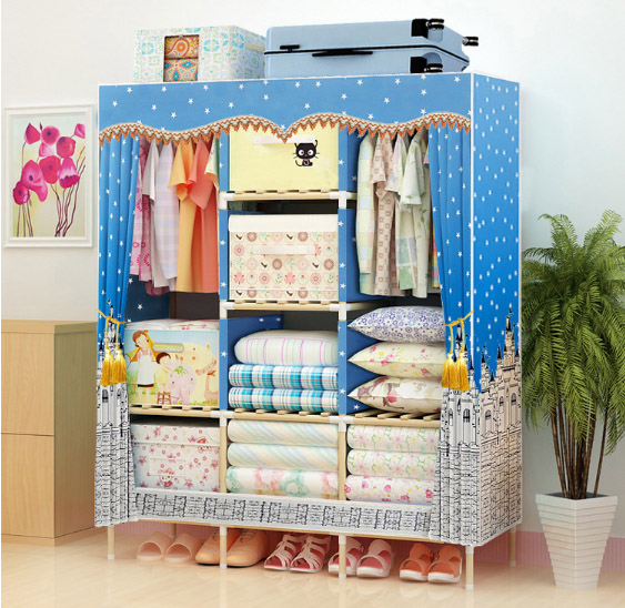 latest wooden wardrobe   length 130cmlatest wooden wardrobe   length 130cm