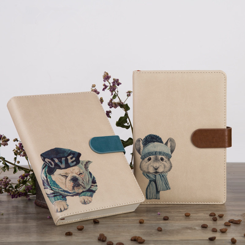 Hot Price Be72 Creative Soft Pu Leather Magnetic Hardcover