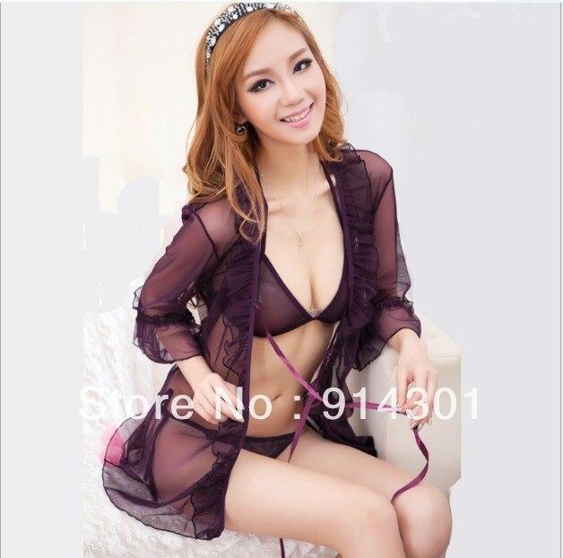 Sexy Lingerie dress,legband,g string set new Underwear One Size Sleepwear,Underwear ,Uniform ,discount burlesque costumes