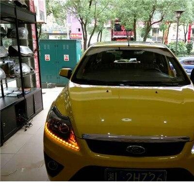 2шт/Лот ангельские глазки 52см новый автомобиль для укладки светодиодные слезливые светильник световой полосы света белый водонепроницаемый поворотный сигнал бесплатная доставка