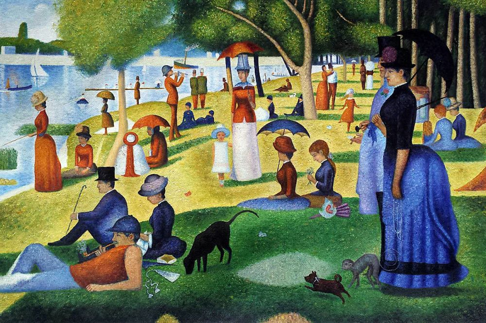 The Island Of The Grande Jatte Georges Seurat
