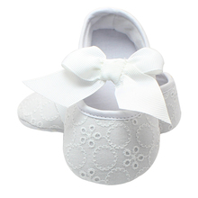 Christening Pre-walker Shoes First Walkers Pink Bowknot Baby