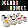 Beau Gel 1pcs Acrylic Color Mirror Nail Polish UV Gel Lacquer Nail Paint Builder False Tips Manicure Gel Kit
