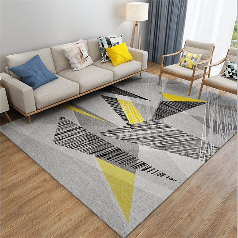2019 New Thicker Soft Nordic Carpets For Living Room Carpet Floor Door Mat Area Rugs Home Mat Delicate Large Decor House Rug Mat