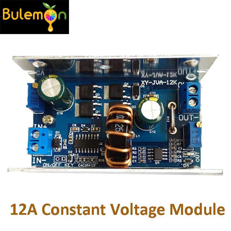 5pcs/lot DC-DC 12A Step-down Constant Voltage Constant Current Module Solar Lithium Battery Charging LED Driver