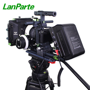 Lanparte Quick Release A6500 A6300 A6000 Camera Kit Rig with Mattebox for Sony