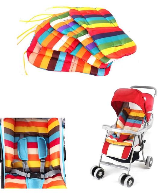 Baby Stroller Cushion Pushchair High Chair Pram Padding Liner Car Seat Pad Color