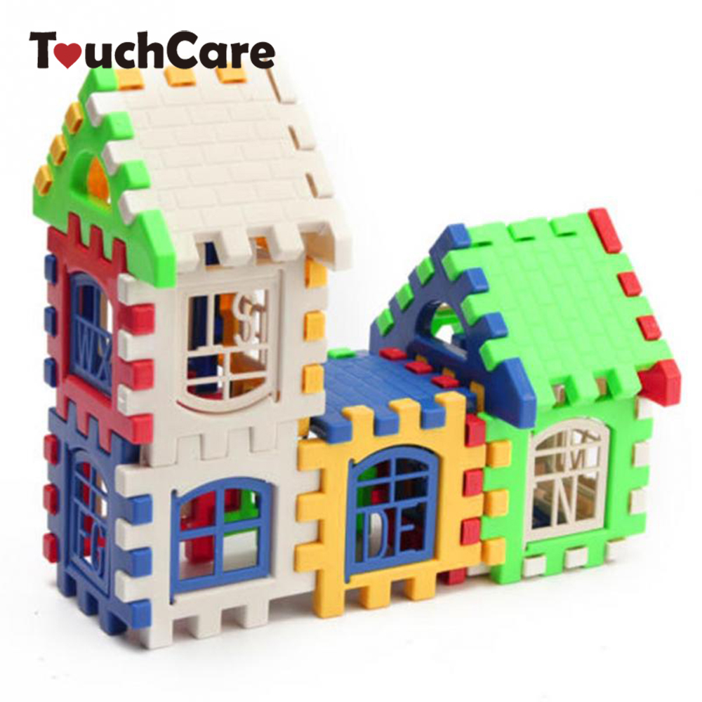 US $3 07 6% OFF|Baby Plastic Gear Sets Kids Plastic Gears Child House  Building Blocks Educational Construction Toy Set Brain Game Children  Toys-in