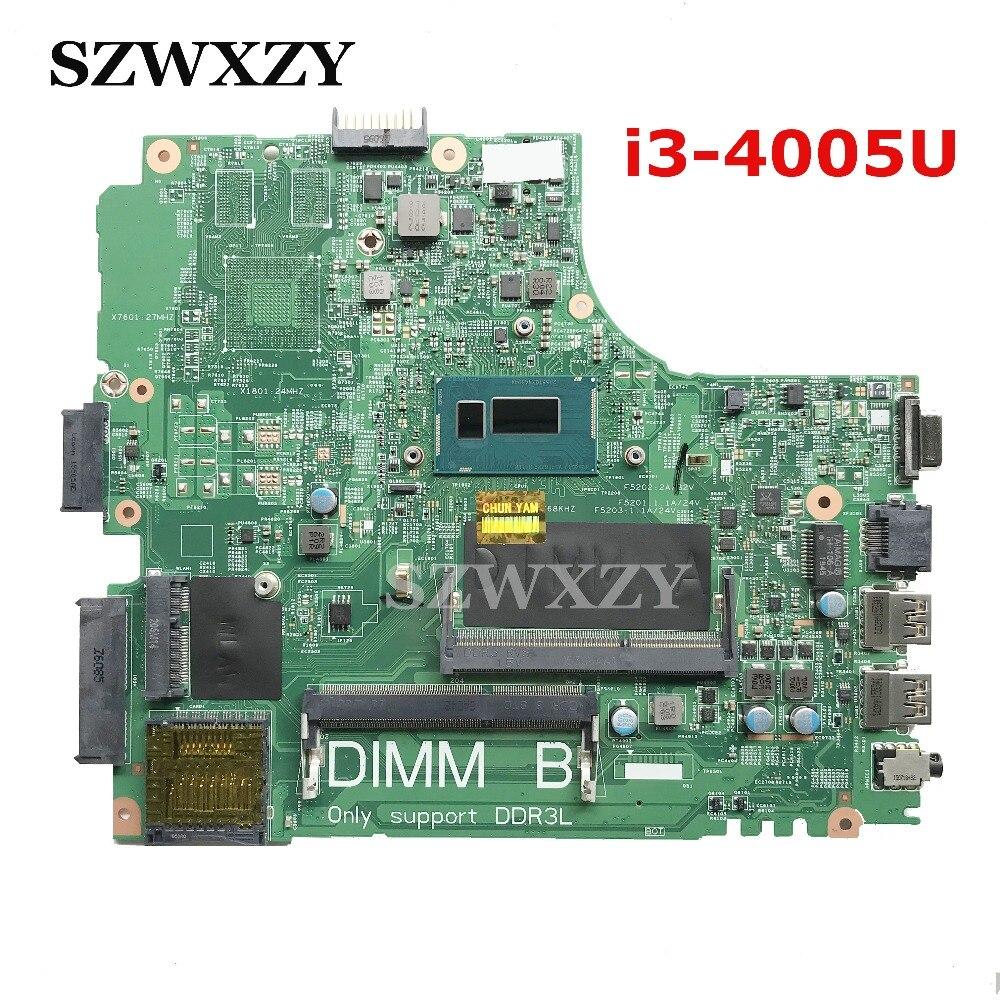 Hoge Kwaliteit Voor Dell latitude 3440 Laptop Moederbord CN 0673CV 0673CV 673CV i3 4005U Processor 13221 1 PWB: WVPHP DDR3-in Laptop Moederbord van Computer & Kantoor op AliExpress - 11.11_Dubbel 11Vrijgezellendag 1