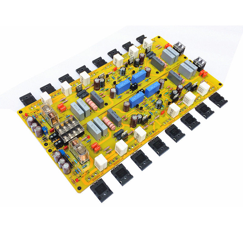 HiFi 2-Channel Class A Power Amplifier Board Inspired by Musical Fidelity A1000 musical fidelity m1pwr black