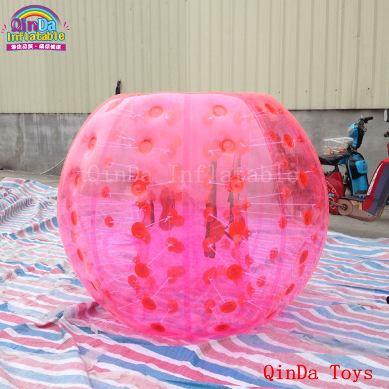 Inflatable human knock bubble football soccer ball, 1.2m inflatable body ball for team game