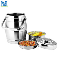 1 6L 2 0L Thermal Insulation Lunch Box Stainless Steel Seal Vacuum Pot Heat Preservation Food