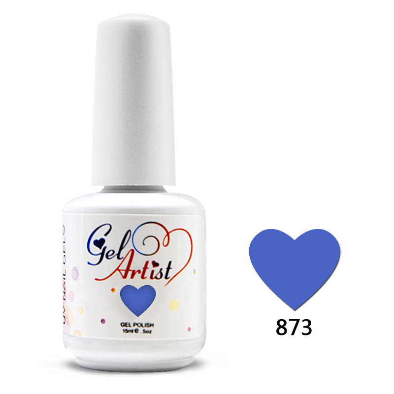 12st UV-gel Nail Brand Nail Gel Polish Soak Off 15ml Blight Colors - Nagel konst