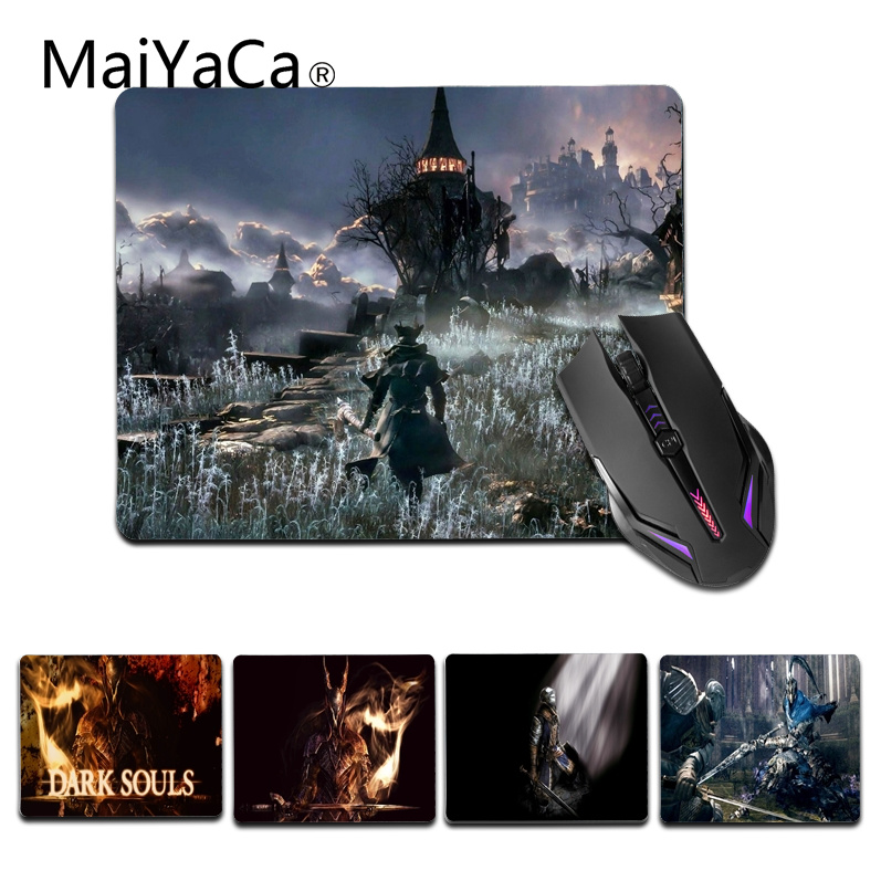 MaiYaCa Custom Skin Dark Soul small Mouse pad PC Computer mat Size for 18x22cm 25x29cm Gaming Mousepads