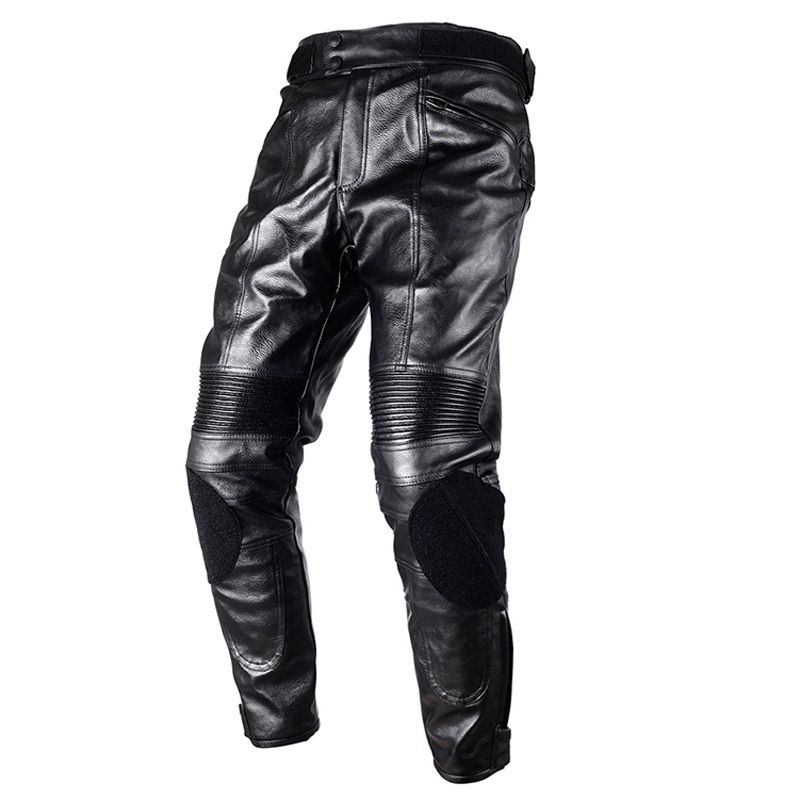 DUHAN Motorcycle Pants Moto Riding Protective Gear PU Leather Pants Motorbike Racing Trousers Locomotive Motocross pants
