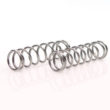 5pcs 1.6mm Wire diameter Stainless steel Compression springs Y-type Pressure spring 22mm-24mm Outside diameter 10-50mm Length