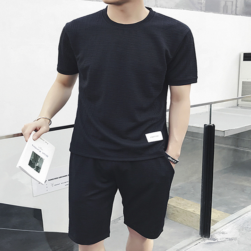 2019 Spring Quick drying Sport Suits Running simple deign for man s
