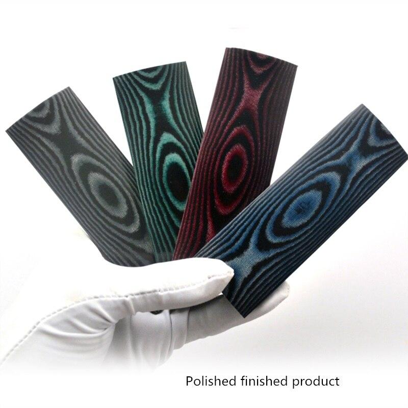 Folding Pocket Knife Handle Color Paper Micarta Knife Handle Scale Blanks Shank Cover Case Material