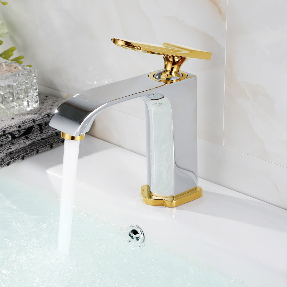 New High Quality Gold Plate Copper Brass Chrome Waterfall