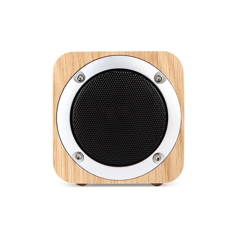 speakers desk. portable wood radio fm bluetooth speaker with subwoofer mini desk wireless speakers altavoz tf card aux in for iphone 6 6s-in from