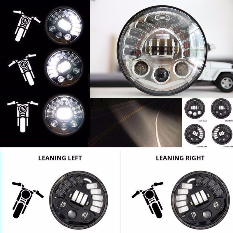 7 Inch adaptive Headlights