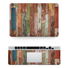 Wood Texture Vinyl Sticker Decal Skin Cover Case For Laptop Apple Macbook Pro Air Mac 11