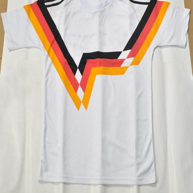 f1b212b9c 1990 World Cup Alemania West Germany home jersey football men training shirt  Soccer Retro jersey. Price: