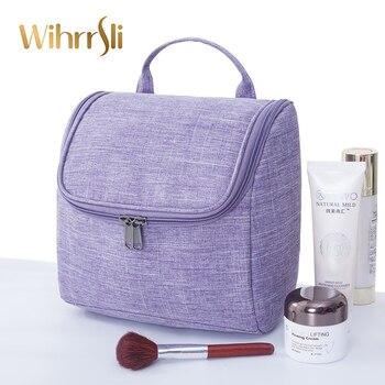 dd4e228e7 Bolsa de cosméticos para mujer bolsa de maquillaje estuche de belleza  neceser estuche organizador de viaje para maleta bolsa de aseo esteticista