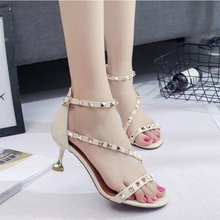 High Heels Shoes Women Pumps Office Lady Pointed For Summer Sexy Sandals Valentine Wedding Size 35-39