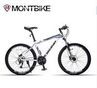 Shanp Mountain Bike Aluminum Wax 27 Speed Microshift 26 Wheels Hydraulic Mechanical Brakes