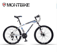 Shanp Mountain Bike Aluminum Wax 27 Speed Microshift 26 Wheels Hydraulic Mechanical Brakes