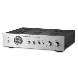 Image 5 - Nobsound Ultime di Fascia Alta di Vuoto 12AT7 12AU7 Tubo Pre Amplificatore Stereo Hi Fi Audio Del Desktop Preamplificatore