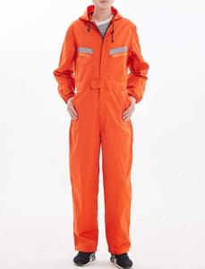 Image 2 - Safety reflective work overalls with hat, factory uniform work clothing, cotton overalls.jumpsuit,Labor suit.