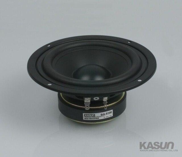 Kasun QA 5100 5inch midrange speaker PP cone woofer power handling 90W
