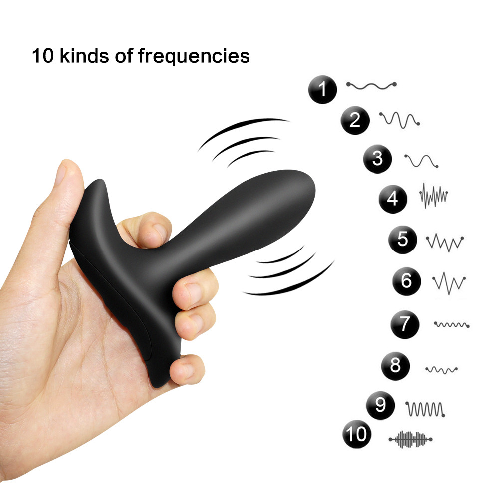 Prostate Vibrator 10 Modes Wireless Remote Control Anal Vibrator Butt plug Prostate Orgasm Massager Anal Sex Toys For Man 7