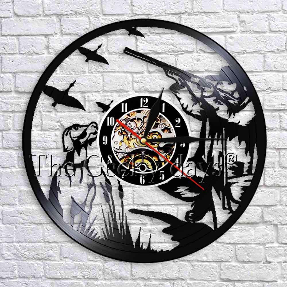 Goofy Friend Vinyl Record Acrylic Idea Color Wall Clock Art Home Handmade Decor