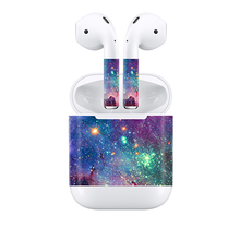 drop delivery settle for 2018 starry design for Apple Airpods sticker decal