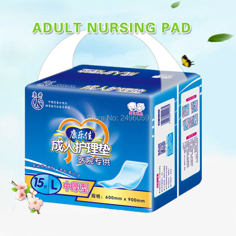 High absorbent disposable nappies type and plain woven feature incontinence bed pad