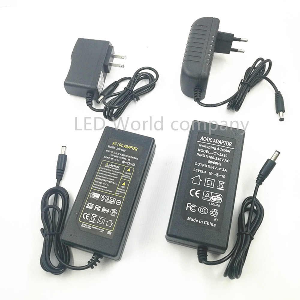 LED Netzteil Adapter DC5V/DC12V/DC24V 1A 2A 3A 5A 7A 8A 10A Für 5 v 12 v 24 v led streifen power fahrer Beleuchtung Transformatoren